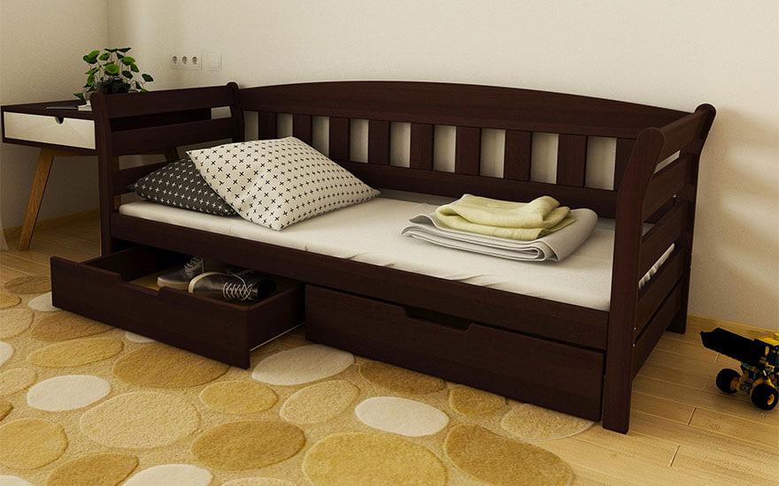 Кровать детская Тедди (бук) LUNA - купить в Харькове, Киеве, Днепре, цена и отзывы - магазин SleepExpert Интернет-магазин SLEEPEXPERT